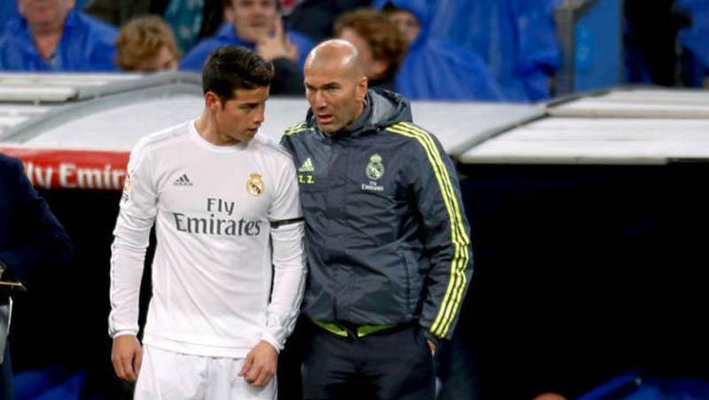 Jawab Keluhan James, Zidane: Saya Tak Marah, Dia Bicara yang Sebenarnya