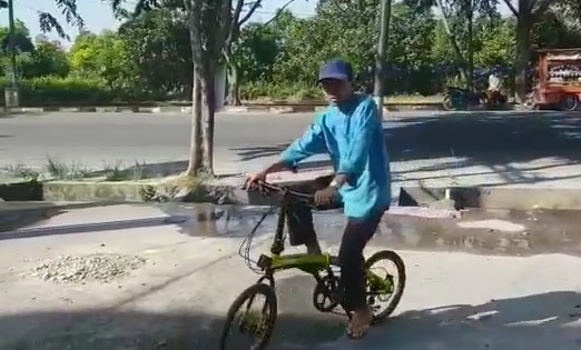 Dikirimi Sepeda dari Aa Gym, Ustaz Abdul Somad: Terima Kasih Aa, Sepeda untuk Ibadah