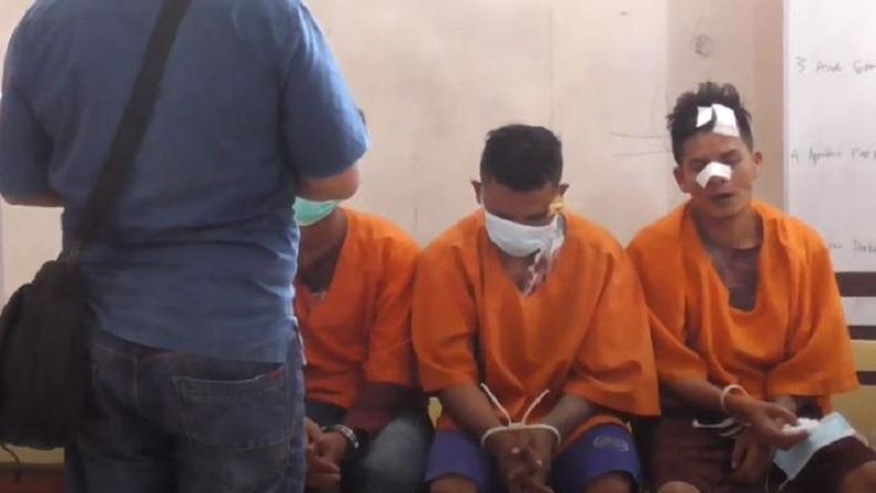 5 Perampok Bersenjata Tajam Beraksi di Dairi, 4 Orang Ditangkap dan Diamuk Massa