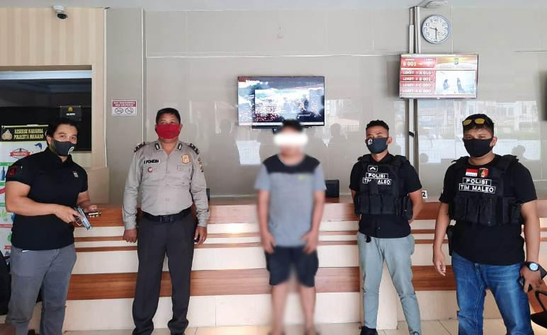 Bawa Airsoft Gun, Pemuda Mabuk di Manado Ditangkap Tim Maleo Polda Sulut
