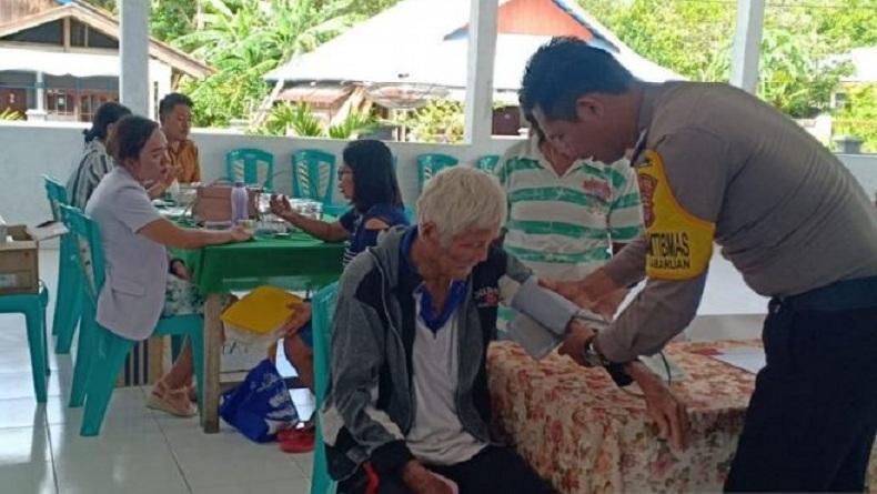 Brigpol Andika, Polisi Teladan yang Bangun Klinik Bhabinkamtibmas di Perbatasan Sulut