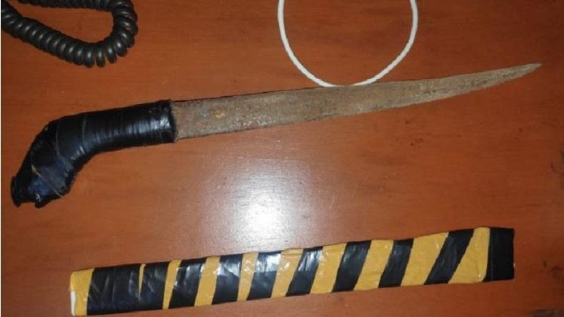 Nongkrong Sambil Bawa Senjata Tajam, Pemuda asal Tanjung Batu Ditangkap Tim Maleo