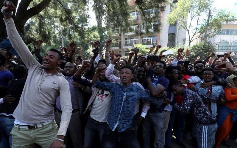 166 Tewas dalam Demo Kematian Penyanyi Pop di Ethiopia
