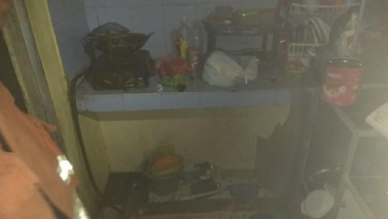 Gas Meledak di Rumah Kontrakan Cipayung, Satu Keluarga Menderita Luka Bakar
