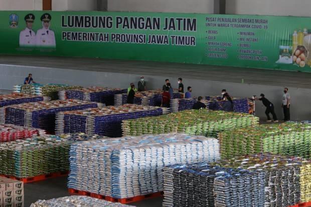 21 Karyawan Lumbung Pangan Jatim Positif Covid-19, Pembelian Online Tutup 3 Hari
