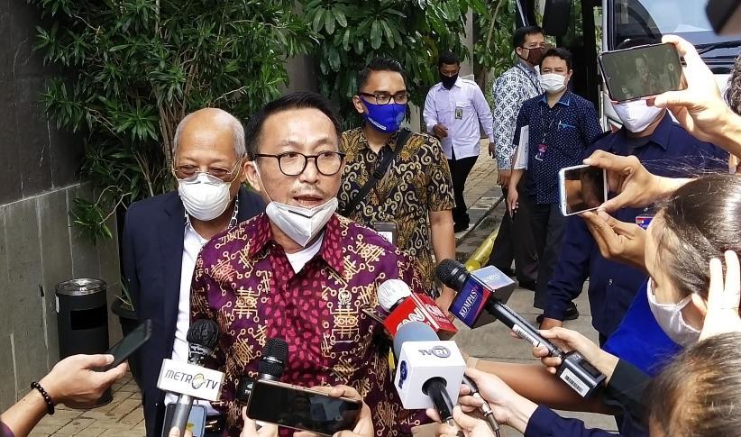Komisi III DPR Rapat Tertutup dengan Pimpinan KPK dan Dewas