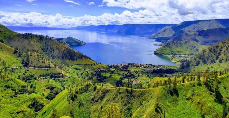 Kaldera Toba Sumut Ditetapkan sebagai UNESCO Global Geopark
