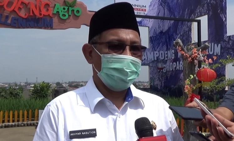 Plt Wali Kota Medan Akhyar Nasution Positif Covid-19