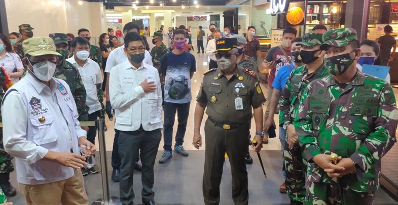 Mal di Manado Dibuka Jumat Ini, Wali Kota Cek Kesiapan Protokol Kesehatan