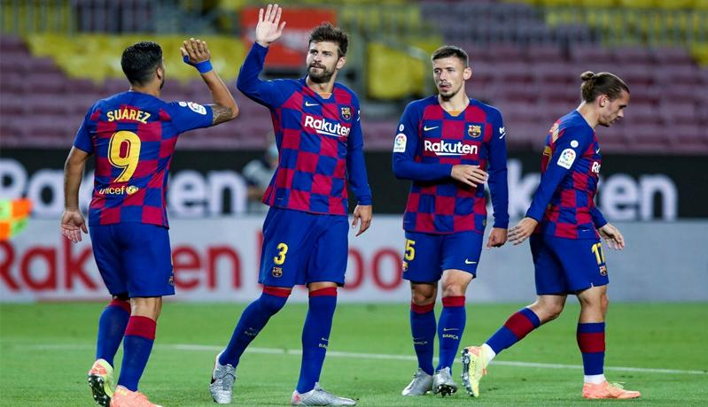 Gol Tunggal Suarez Dekatkan Barcelona dengan Real Madrid