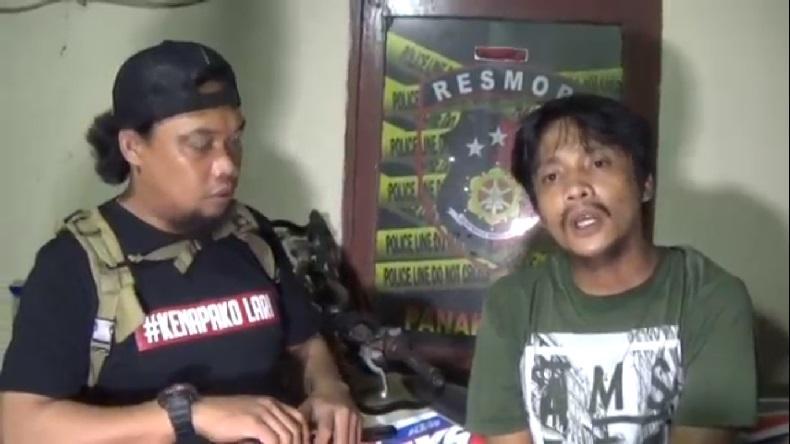 Mengaku Mabuk, Pelaku Pengancaman Warga di Makassar Sempat Arahkan Samurai ke Polisi