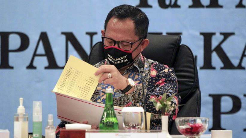 Pilkada 2020 di Tengah Pandemi, Tito Karnavian: Kampanye Bagikan Masker Boleh