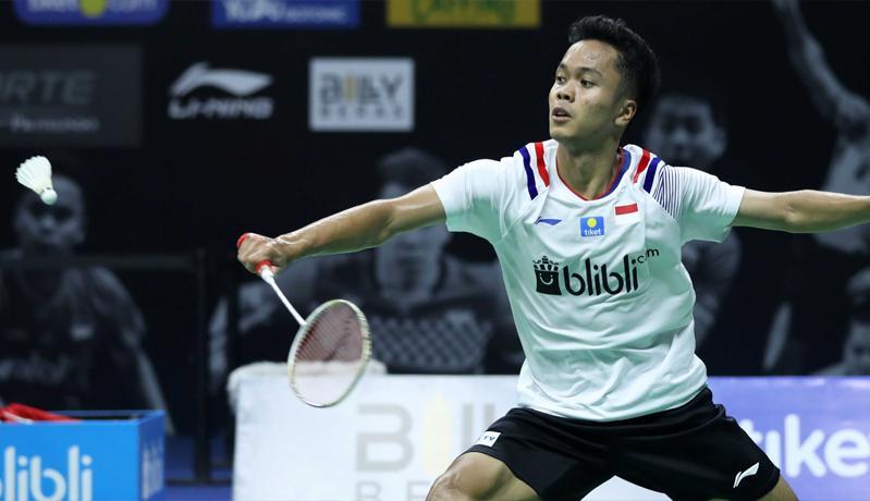 Anthony Ginting Juara PBSI Home Tournament Sektor Tunggal Putra