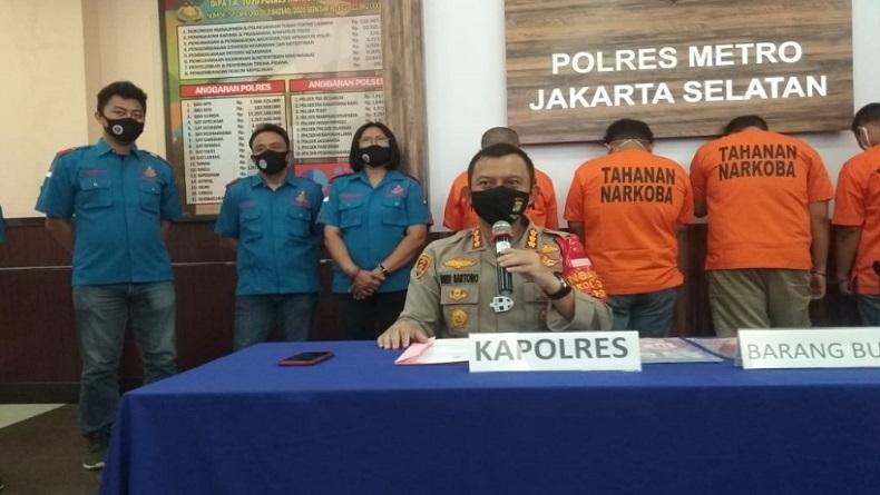 Tiga Pilot Konsumsi Sabu sejak 4 Tahun Lalu