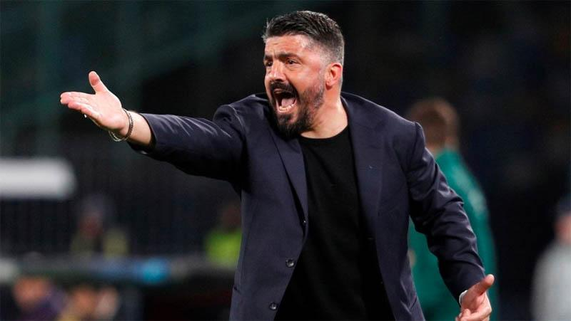 Napoli Diimbangi Milan, Gattuso: Saya Marah Kami Banyak Buang Peluang