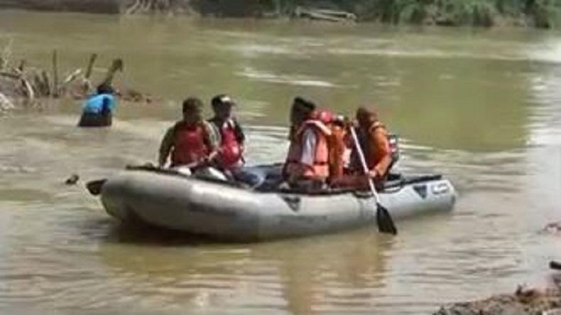 Kelelahan Berenang, Bocah Tenggelam dan Hilang di Sungai Batang Tebo Jambi