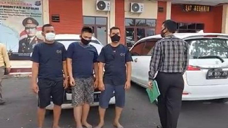Rampas Motor, 3 Debt Collector Gadungan di Tebingtinggi Diancam 12 Tahun Penjara