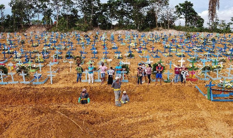 Total Kematian akibat Covid-19 di Amerika Latin Capai 196.000 Jiwa