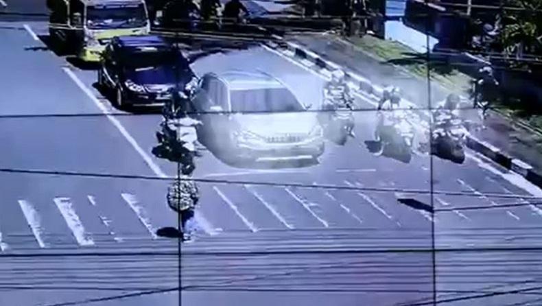 Nekat Joget TikTok di Penyeberangan Jalan, Perempuan di Ternate Diamankan Polisi