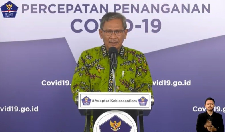 Achmad Yurianto Dicopot dari Dirjen P2P Kemkes
