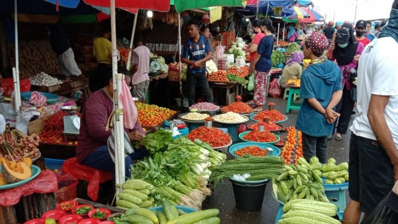2 Pedagang Meninggal Diduga Terpapar Covid-19, Pasar Kayen Pati Ditutup