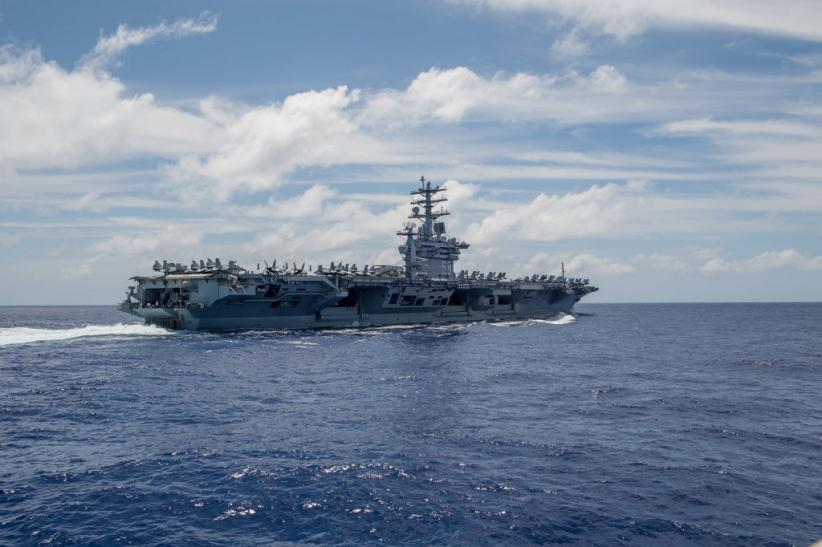 AS dan India Gelar Latihan Perang di Samudera Hindia, Ada Apa?