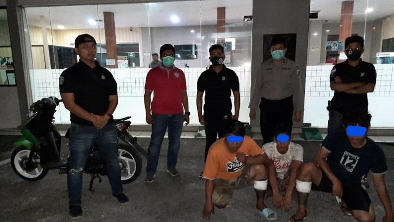 Komplotan Pencuri Motor dan Alat Elektronik Ditangkap di Manado