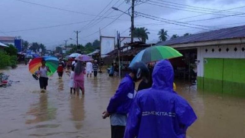 Banjir di Bolsel, Seorang Kepala Desa Hilang Terseret Arus saat Pantau Sungai