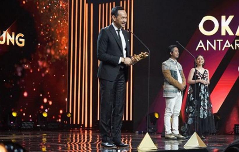 Oka Antara Senang Raih Pemeran Pria Pendukung Terbaik IMA Awards 2020