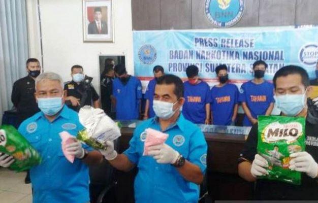 Ungkap Kasus Narkoba Jaringan Riau, BNN Sumsel Tangkap Pecatan TNI di Palembang