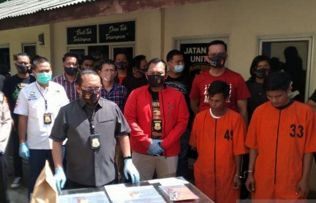 Polisi Tangkap 3 Pelaku Pembunuh Warga Palembang, Motif Utang Narkoba