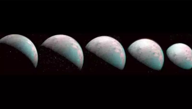 NASA Juno Tangkap Foto Pertama Bulan Jupiter