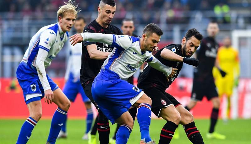 Prediksi Sampdoria Vs AC Milan: Tim Tamu Ingin Amankan Zona Liga Europa