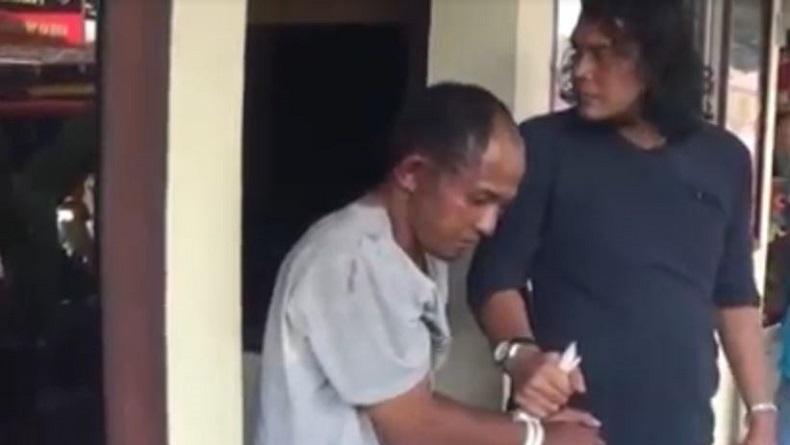 Dor! Residivis Curanmor Spesialis Rumah Ibadah di Solok Ditembak Polisi saat Ditangkap