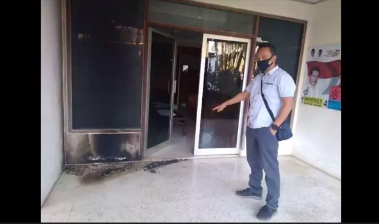 Rumah Wakil Ketua DPC PDIP Bogor Dilempar 3 Bom Molotov