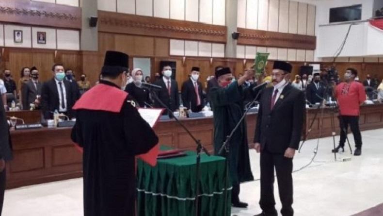 Wakil Ketua DPRD Maluku PAW Dijabat Rasyad Efendy Latuconsina dari Fraksi Golkar