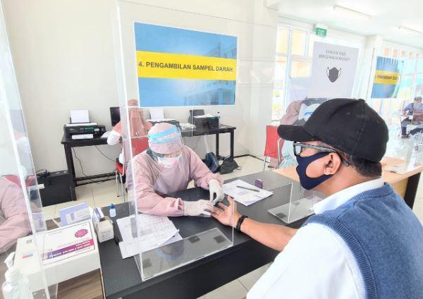 Bandara Syamsudin Noor Sediakan Rapid Test Biaya Rp150.000