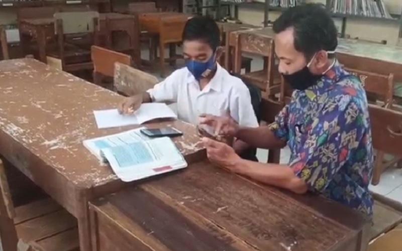 Tak Hanya di Rembang, Siswa Sekolah Sendirian Juga Ditemukan di Pekalongan