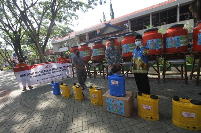 Bupati Achmad Fikry Ajak Perusahaan di HSS Bantu Atasi Dampak Covid-19