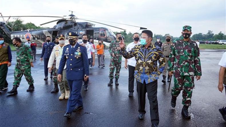 Cegah Karhutla, Sumsel Punya 9 Helikopter Water Bombing dari Rusia dan USA