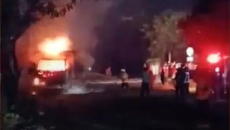 Tungku Meledak, Pabrik Peleburan Baja di Tangerang Ludes Terbakar