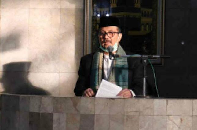 Jadi Khatib Salat Id, Bupati Cirebon Bicara Peristiwa Nabi Ibrahim dan Ismail