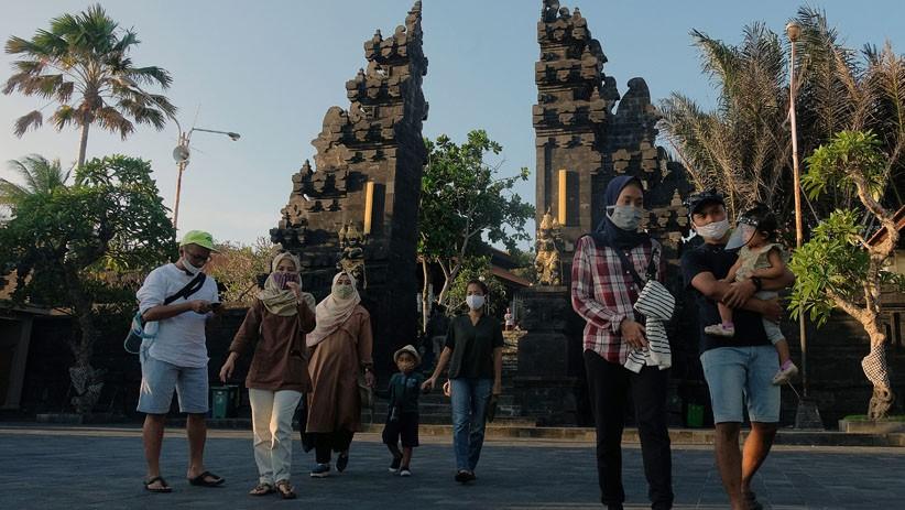 Tanah Lot di Bali Ramai Dikunjungi, Pengelola Target 1.000 Wisatawan