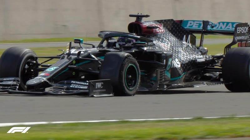 Drama di Putaran Terakhir, Lewis Hamilton Juara GP Inggris