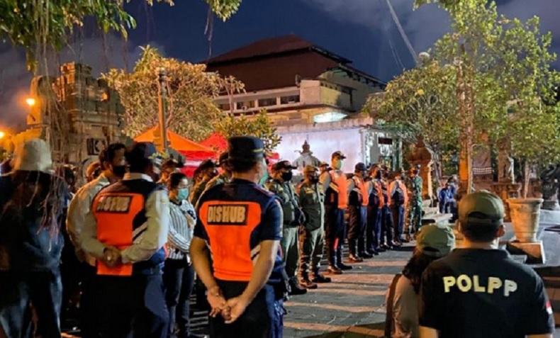 Marak Pedagang Pasar Tumpah di Denpasar, Satpol PP Lakukan Penertiban