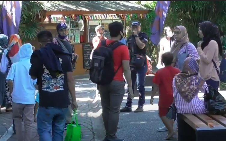 Libur Idul Adha, Wisata Pemandian Air Panas di Subang Dipadati Pengunjung