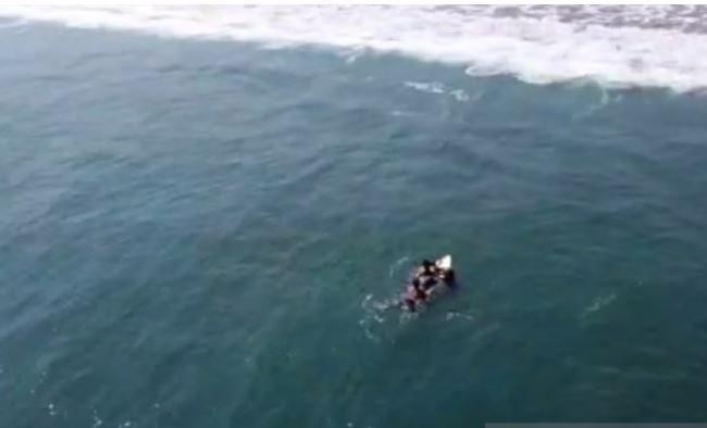 Liburan Idul Adha, 4 Wisatawan Tenggelam saat Berenang di Pantai Kebonkalapan