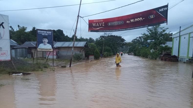 Banjir-Longsor Terjang Tanggamus, Jalan Lintas Barat Putus Total