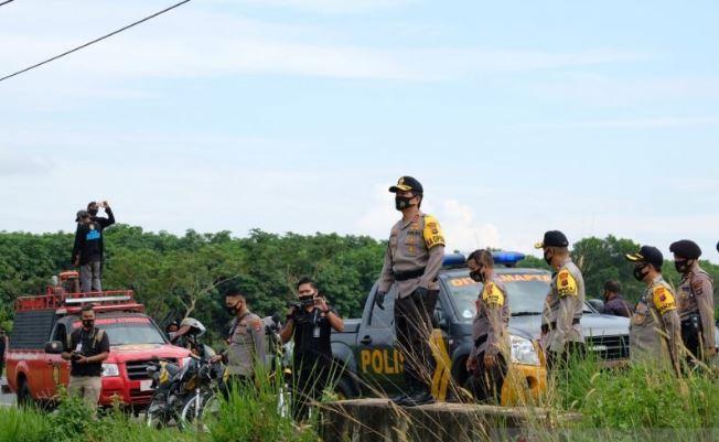 Antisipasi Karhutla, Kapolda Kalsel Cek Embung dan Kanal di Banjarbaru