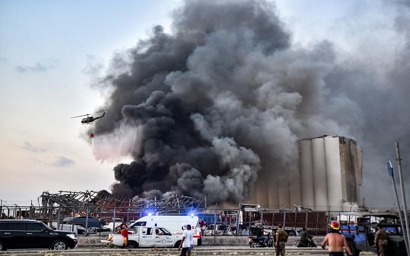 Ledakan Besar di Beirut, Kedubes RI di Lebanon Jelaskan Kondisi Terkini WNI